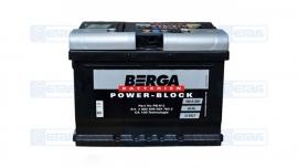 Акумулятор BERGA Power Block 60А (-/+)(540EN)EB